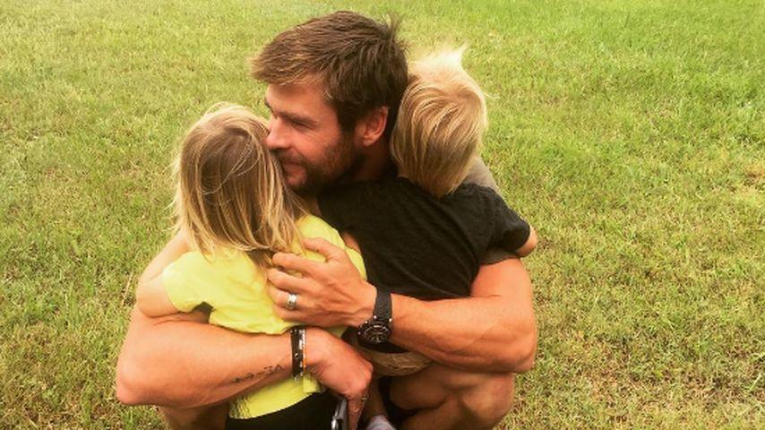 Für seine Kinder: Chris Hemsworth zurück in Australien