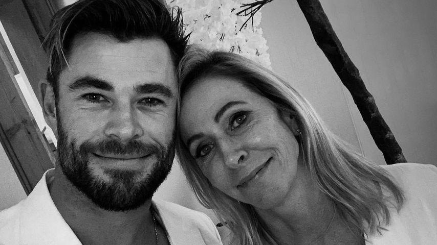 Chris Hemsworth mit seiner Mama Leonie