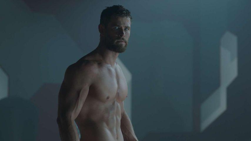 """Schauspieler Chris Hemsworth in """"Thor Ragnarok"""""""
