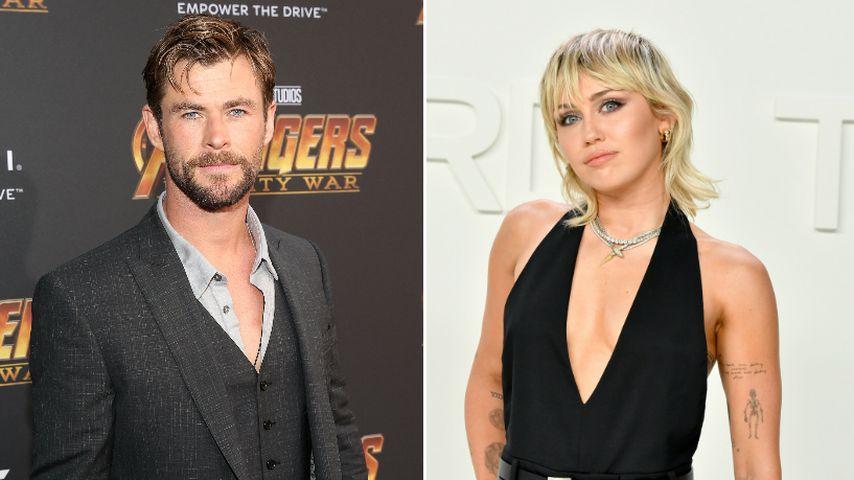 Stichelt Chris Hemsworth wieder gegen Ex-Schwägerin Miley?