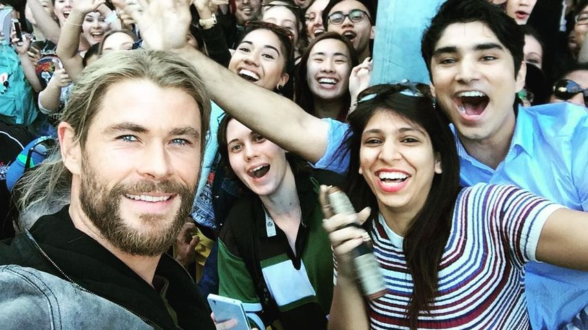 Chris Hemsworth in Brisbane, Australien