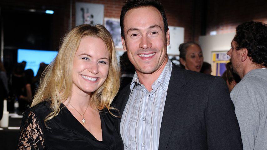 Chris Klein und Laina Rose Thyfault