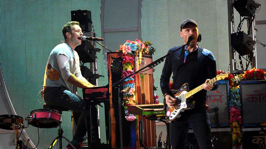 Chris Martin und Jonny Buckland von Coldplay