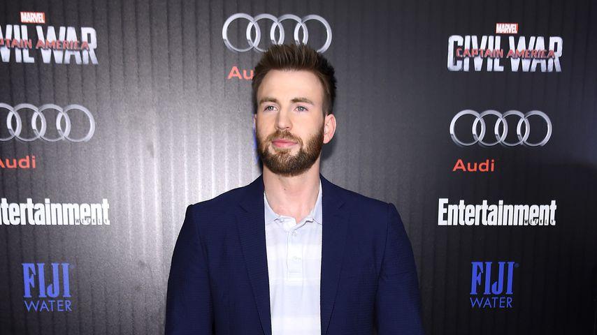 """Chris Evans bei der """"Captain America: Civil War""""-Premiere"""