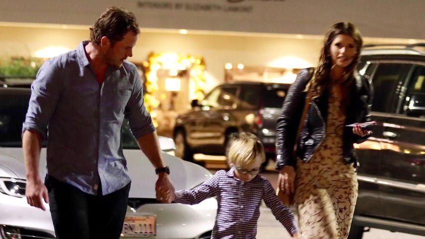 Chris Pratt mit Sohn Jack und Freundin Katherine Schwarzenegger