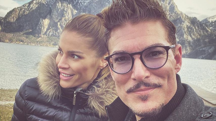 Chris Töpperwien und seine Verlobte Lili im März 2020