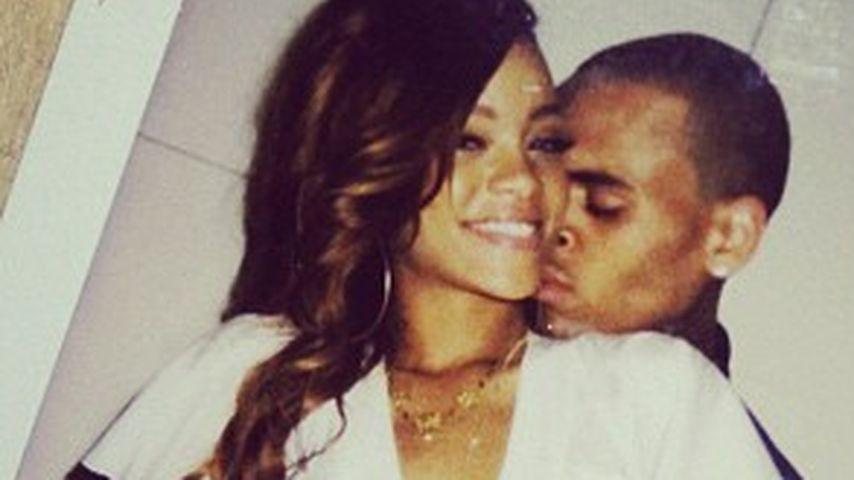 Turtel-Fotos: Rihanna & Chris verliebt wie nie