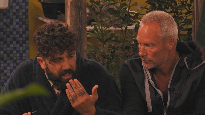 """Chris und Jürgen auf dem """"Promi Big Brother""""-Campingplatz"""