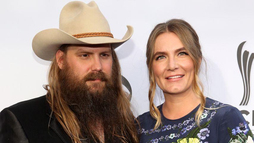 Chris und Morgane Stapleton im August 2017 in Nashville