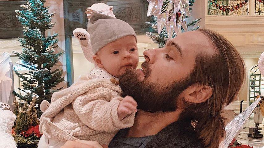 Chris Welch und seine Tochter