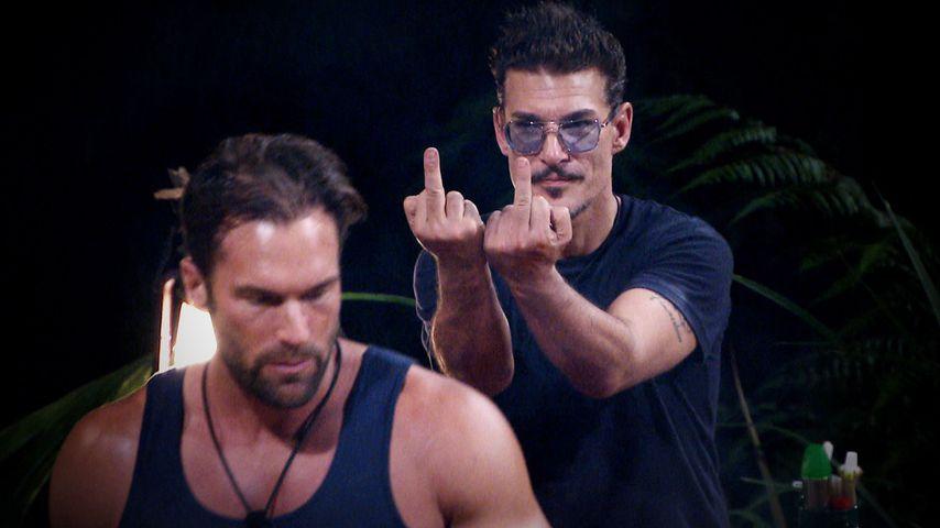 Bastian Yotta und Chris Töpperwien am dritten Dschungelcamp-Tag