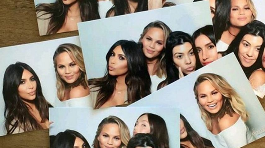 Fette Fete: Chrissy Teigen feiert Baby-Shower mit Kim & Co.