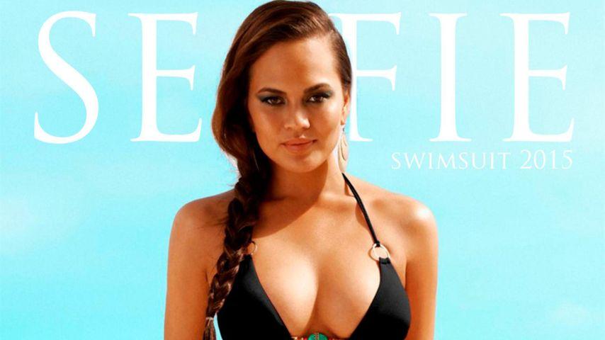 Heiße Kurven: Chrissy Teigen verführt im Bikini