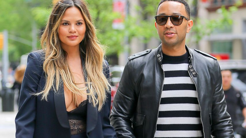 Chrissy Teigen und John Legend in NYC