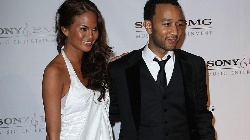 Chrissy Teigen und John Legend 2008