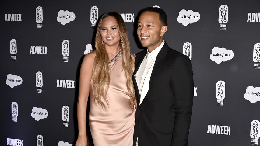 Chrissy Teigen und John Legend bei einer Gala