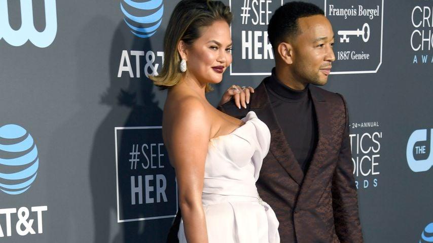 Chrissy Teigen und John Legend im Januar 2019