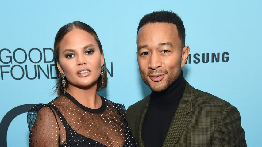 Chrissy Teigen und John Legend im September 2018