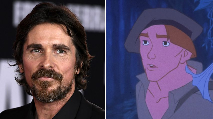 "Collage: Christian Bale, Thomas aus ""Pocahontas"""