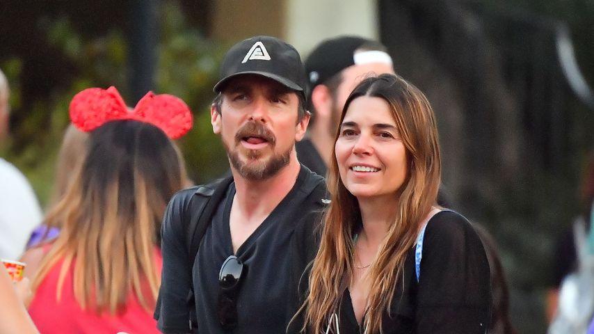 Christian Bale und seine Frau, 2021