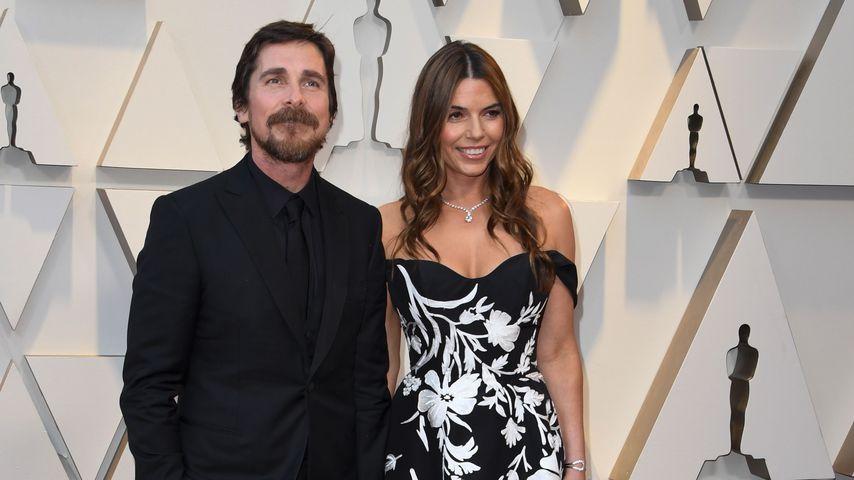 Christian Bale und Sibi Blazic bei der 91. Oscar-Verleihung