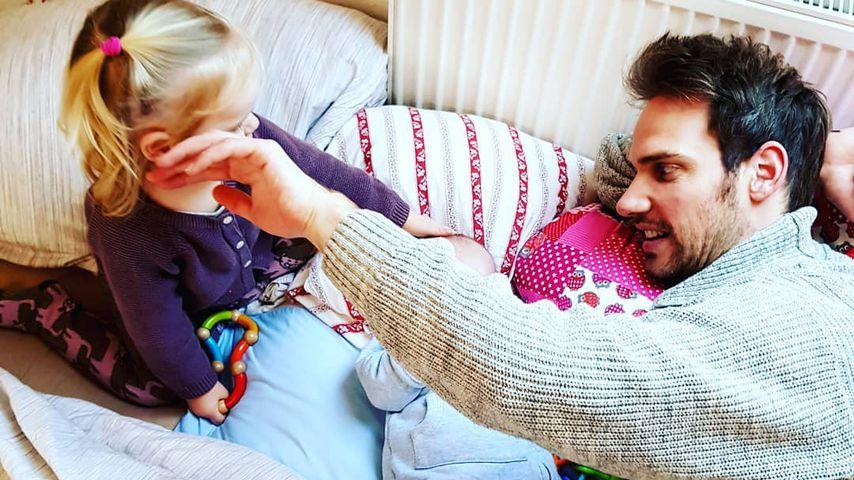 """1. Foto: """"Sturm der Liebe""""-Christian zeigt seine beiden Kids"""
