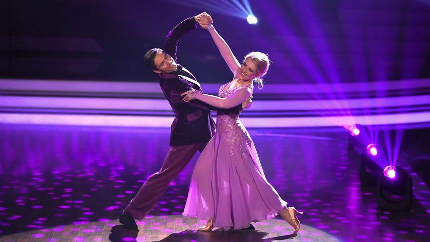 """Christian Polanc und Iris Mareike Steen bei """"Let's Dance"""""""