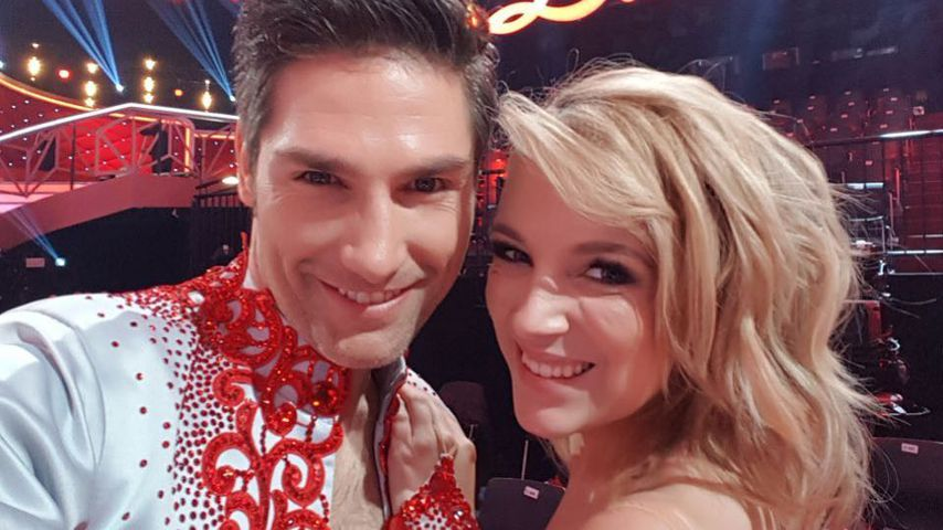 "Christian Polanc und Iris Mareike Steen im ""Let's Dance""-Studio"