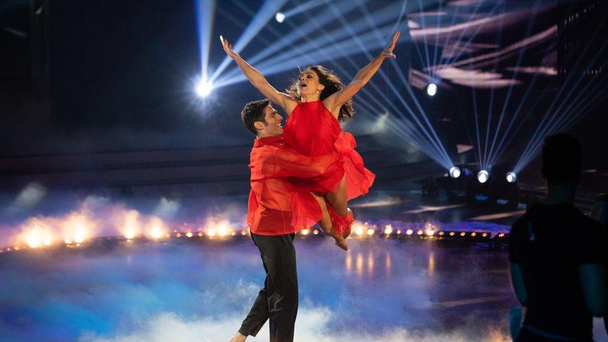 "Christian Polanc und Nazan Eckes bei ""Let's Dance"" 2019"