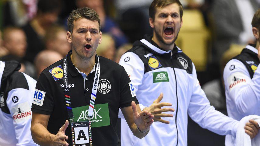 Trainer Christian Prokop bei der WM 2019