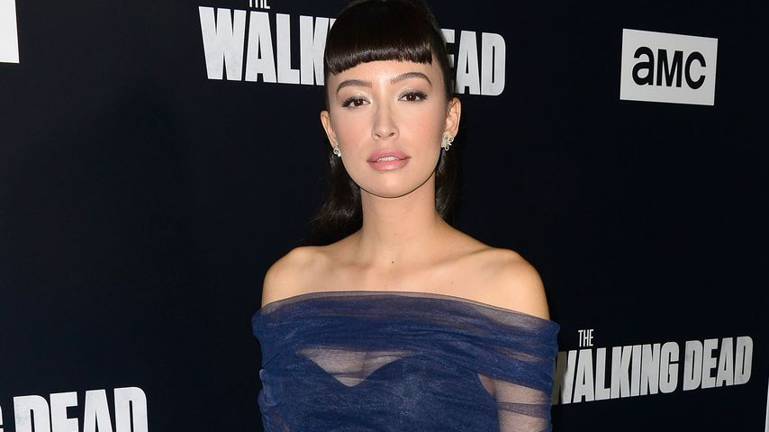 "Christian Serratos bei einer ""The Walking Dead""-Staffelpremiere im September 2018"