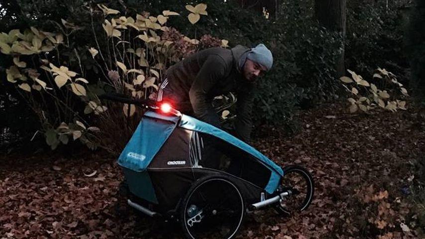 Triste Herbstzeit? Christian Tews mutiert zum Super-Daddy!