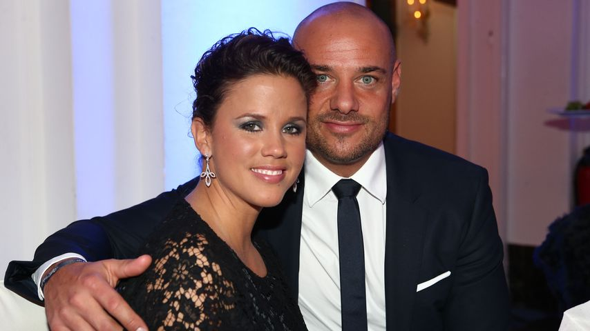 "Christian Tews und Claudia bei der ""Holiday on Ice""-Gala in Hamburg 2014"