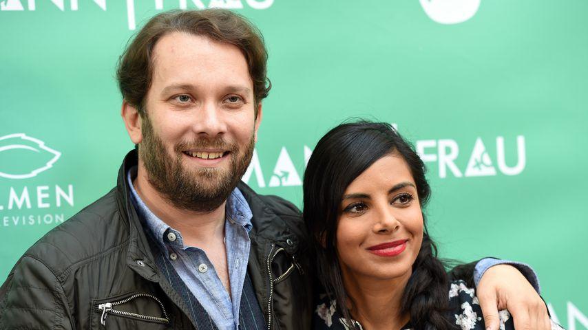 Christian Ulmen und seine Frau Collien Ulmen-Fernandes, September 2015