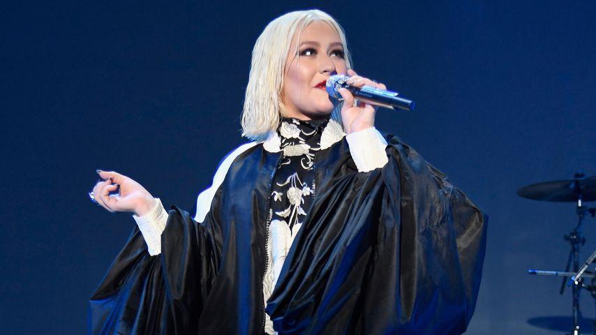 Christina Aguilera im Januar 2019