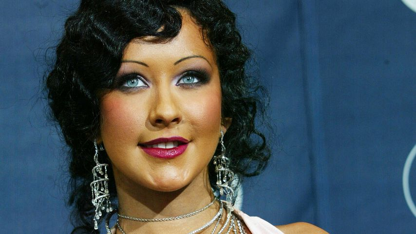 Christina Aguilera bei den Grammy Awards 2004