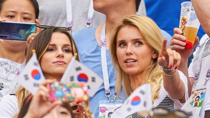 Christina Ginter und Scarlett Gratmann bei der WM 2018 in Russland