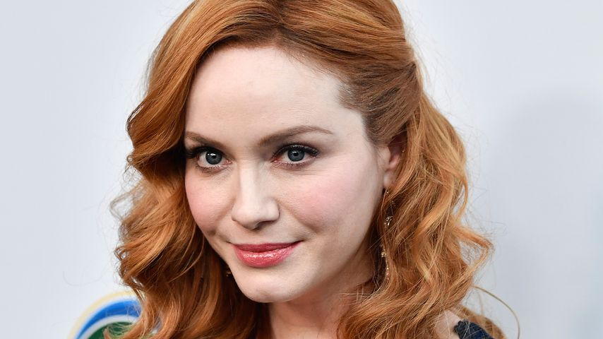 "Christina Hendricks bei einem Event des ""UCLA Institute of the Environment and Sustainability"""