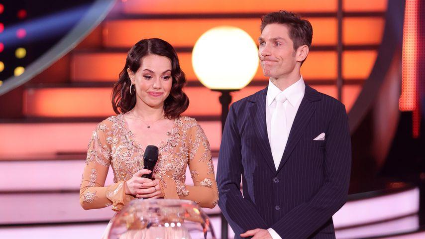 """Christina Luft und Christian Polanc in der Kennenlernshow von """"Let's Dance"""" 2021"""