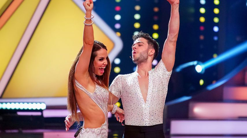 "Christina Luft und Luca Hänni im ""Lass uns tanzen""-Finale"