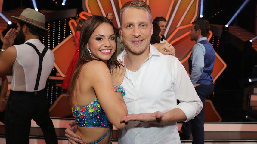 """Christina Luft und Oliver Pocher bei """"Let's Dance"""" 2019"""