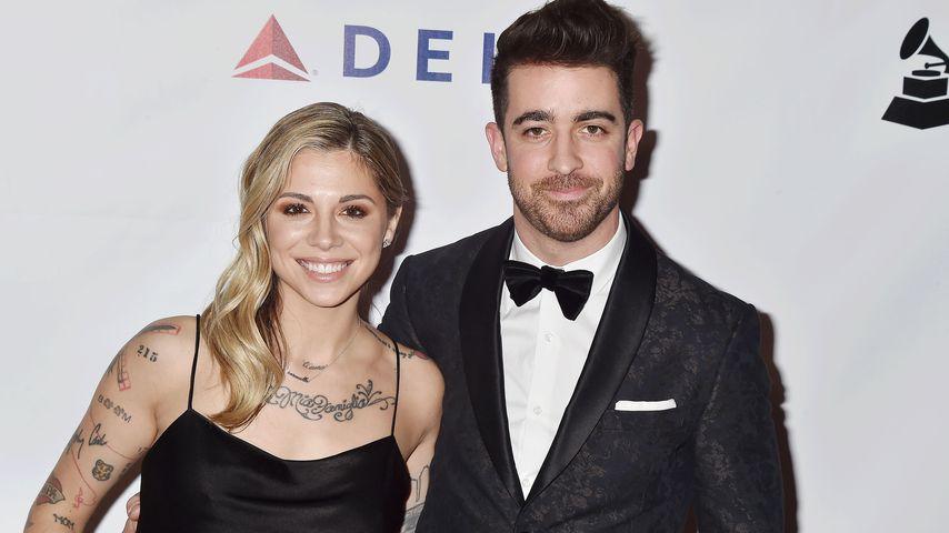Christina Perri und Paul Costabile, Februar 2019