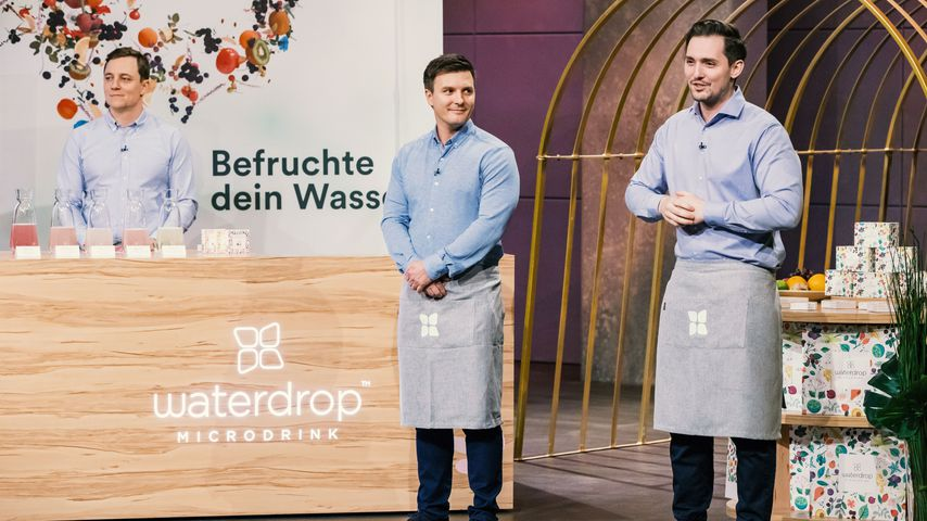 Christoph Hermann, Martin Donald Murray und Thomas Henry Wieser von Waterdrop