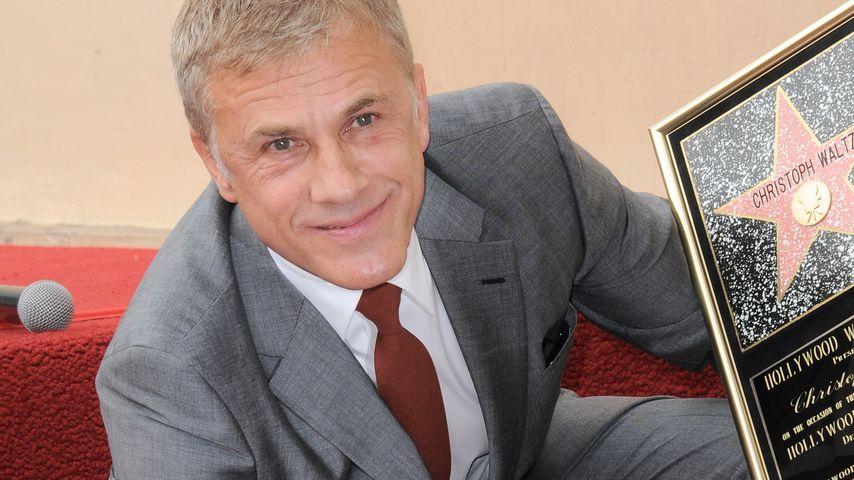 Große Ehre: Christoph Waltz hat jetzt seinen Stern