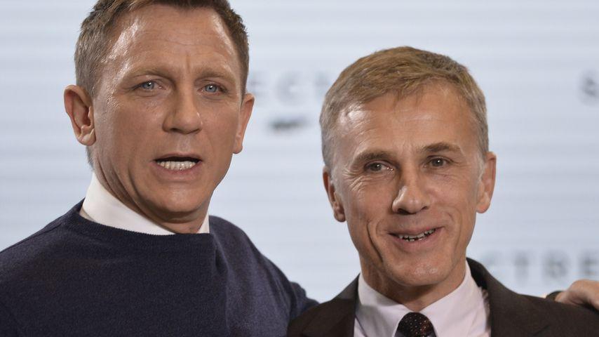 Daniel Craig und Christoph Waltz