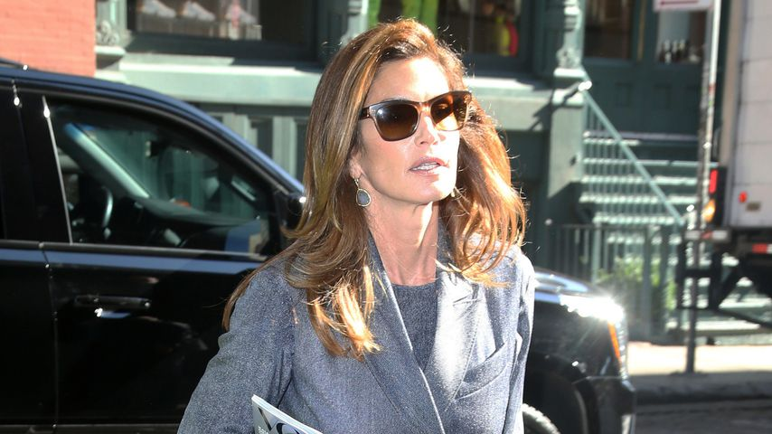 Cindy Crawford in New York