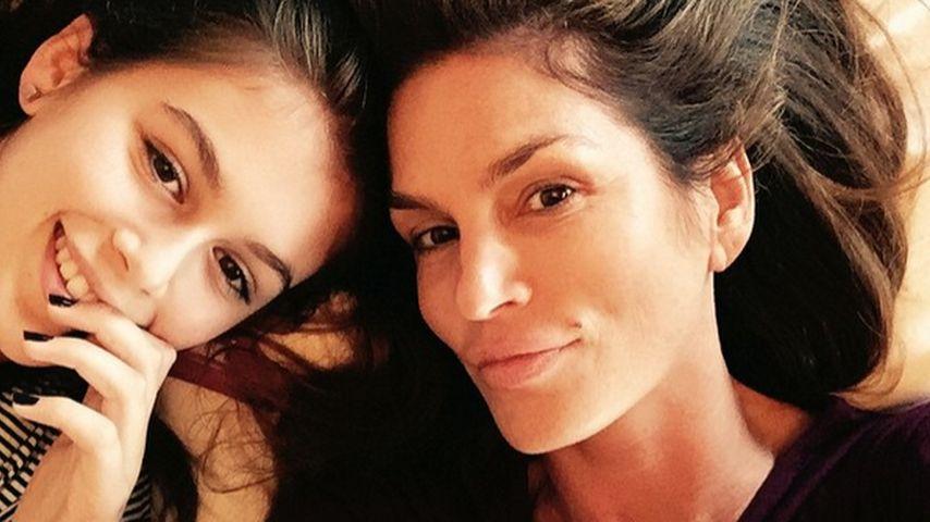 Cindy Crawford und Kaia Crawford