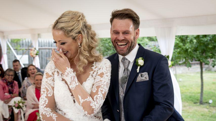 """Cindy und Alex bei ihrer """"Hochzeit auf den ersten Blick"""", 2019"""