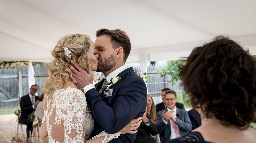 """Cindy und Alexander, """"Hochzeit auf den ersten Blick""""-Paar"""