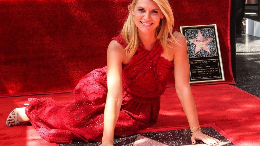 Auf dem Walk of Fame: Claire Danes enthüllt ihren Stern